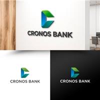Cronos Bank, Logo e Identidade, Contabilidade & Finanças