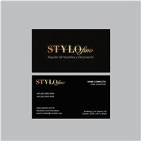 Stylofino alquiler de muebles y decoracion, Logo e Identidade, Decoração & Mobília