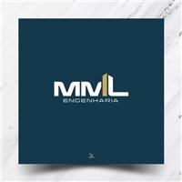 MML Engenharia, Logo e Identidade, Construção & Engenharia
