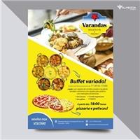Restaurante Varandas, Peças Gráficas e Publicidade, Alimentos & Bebidas