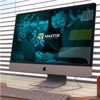Master Tecnologia, Logo e Identidade, Tecnologia & Ciencias