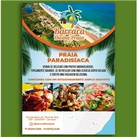 Barraca Divina Praia, Peças Gráficas e Publicidade, Alimentos & Bebidas