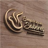 Empório dos Sabores Lanchonete & Cafeteria, Logo e Identidade, Alimentos & Bebidas