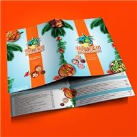 Divina Praia, Peças Gráficas e Publicidade, Alimentos & Bebidas