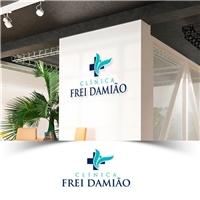 Clínica Frei Damião, Logo e Identidade, Saúde & Nutrição