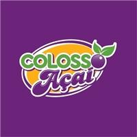 Colosso Açaí, Logo e Identidade, Alimentos & Bebidas