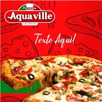 Pizzaria Aquaville, Web e Digital, Alimentos & Bebidas