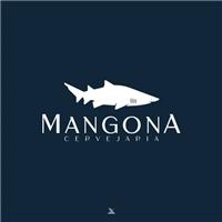 Mangona cervejas exclusivas - Caraguatatuba-SP, Logo e Identidade, Alimentos & Bebidas