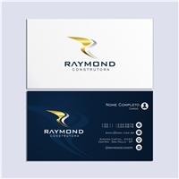 RAYMOND CONSTRUTORA LTDA, Logo e Identidade, Construção & Engenharia
