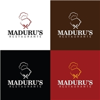 Maduru's Restaurante, Logo e Identidade, Alimentos & Bebidas