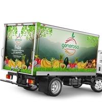 Comercio De Frutas Orgânicas Generoso Ltda Me, Peças Gráficas e Publicidade, Alimentos & Bebidas