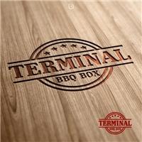 Terminal BBQ BOX, Logo e Identidade, Alimentos & Bebidas