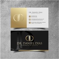 Dr. Daniel Dias - Cirurgia Plastica, Logo e Identidade, Saúde & Nutrição