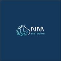NM Sistemas, Logo e Identidade, Tecnologia & Ciencias