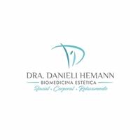 Danieli Hemann Biomedicina Estética Facial Corporal e Relaxamento, Logo e Identidade, Beleza