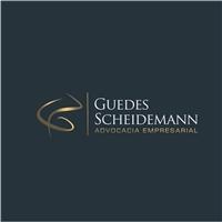 Guedes ScheidemannAdvocacia empresarial, Logo e Identidade, Advocacia e Direito