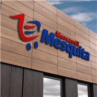 Mercantil Mesquita, Logo e Identidade, Alimentos & Bebidas