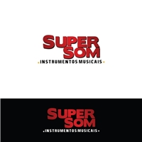 Super Som Instrumentos Musicais, Logo e Identidade, Música