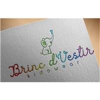 Brinc d'Vestir, Logo e Identidade, Crianças & Infantil