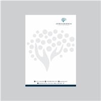 Psicóloga Letícia Sciencia, Logo e Identidade, Saúde & Nutrição