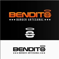 BENDITO BURGER, Logo e Identidade, Alimentos & Bebidas