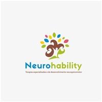 Neurohability Excelência em terapias especializadas para desenvolvimento neuropsicomotor, Logo e Identidade, Saúde & Nutrição