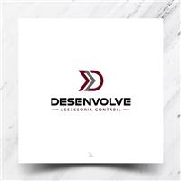 DESENVOLVE ASSESSORIA CONTÁBIL, Logo e Identidade, Contabilidade & Finanças