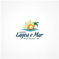 HOTEL LAGOA E MAR , Logo e Identidade, Viagens & Lazer