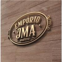 Empório JMA - Desde 1948 (JMA é a abreviação do nome do fundador), Logo e Identidade, Alimentos & Bebidas