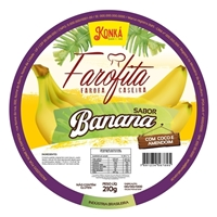 Farofita - Farofa de banana, Embalagens de produtos, Alimentos & Bebidas