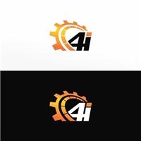 4i  ou  (pode ser quatro i ), Logo e Identidade, Automotivo