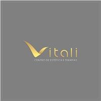 Vitali Centro de Estética e Terapias, Logo e Identidade, Beleza