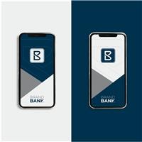 BANCO BRAND / BRAND BANK, Logo e Identidade, Contabilidade & Finanças