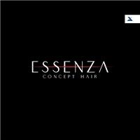 Essenza Concept Hair, Logo e Identidade, Beleza
