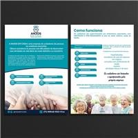 ANJOS EM CASA. CUIDADORES EM DOMICILIARES., Peças Gráficas e Publicidade, Saúde & Nutrição