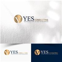 YES CONSULTING ASSESSORIA E CORRETORA DE SEGUROS LTDA, Logo e Identidade, Consultoria de Negócios