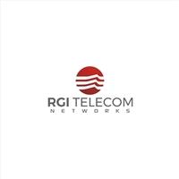 RGI TELECOM NETWORKS, Logo e Identidade, Tecnologia & Ciencias