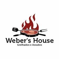Weber's House - Grelhados e Assados, Logo e Identidade, Alimentos & Bebidas