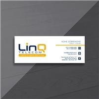 LinQ Telecom, Logo e Identidade, Computador & Internet