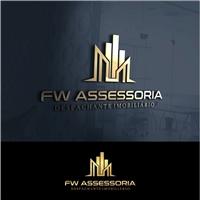 FW Assessoria, Logo e Identidade, Consultoria de Negócios