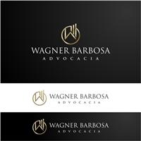 Wagner Barbosa Advocacia, Logo e Identidade, Advocacia e Direito