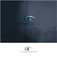 Clínica Oftalmológica Dr Giovanni Oliveira Jr, Logo e Identidade, Saúde & Nutrição