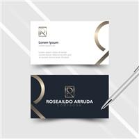 Roseaildo Arruda Contabilidade Municipal, Logo e Identidade, Consultoria de Negócios
