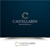 Castellarin Advocacia, Logo e Identidade, Advocacia e Direito