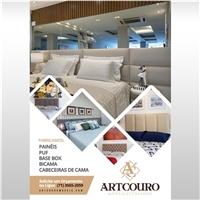 ARTCOURO / PAINÉIS E CABECEIRAS DE CAMA, BASE BOX, PUF, BICAMA., Peças Gráficas e Publicidade, Decoração & Mobília