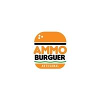 AMMO BURGUER, Logo e Identidade, Alimentos & Bebidas