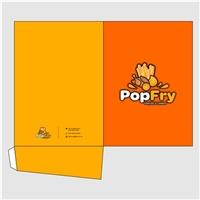 PopFry ou Popfry, Logo e Identidade, Alimentos & Bebidas