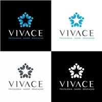 VIVACE - PSICOLOGIA SAÚDE E EDUCAÇÃO, Logo e Identidade, Saúde & Nutrição