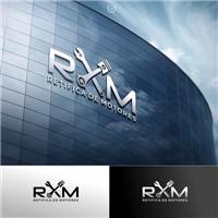 RXM Retifica de Motores , Logo e Identidade, Automotivo