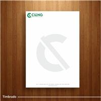CIENG PROJETOS DE ENGENHARIA, Logo e Identidade, Construção & Engenharia